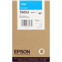 Epson Cyan T6052 Ink Cartridge  (110ml)