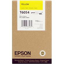 Epson Yellow T6054 Ink Cartridge (110ml)