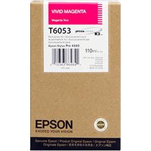 Epson Vivid Magenta T6053 Ink Cartridge (110ml)