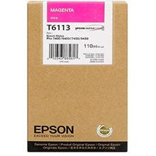 Epson Magenta T6113 Ink Cartridge (110ml)