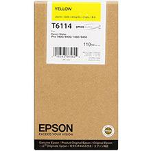 Epson Yellow T6114 Ink Cartridge (110ml)