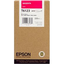 Epson Magenta T6123 Ink Cartridge (220ml)