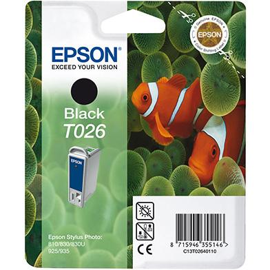 Epson Black T026 Ink Cartridge (16ml)