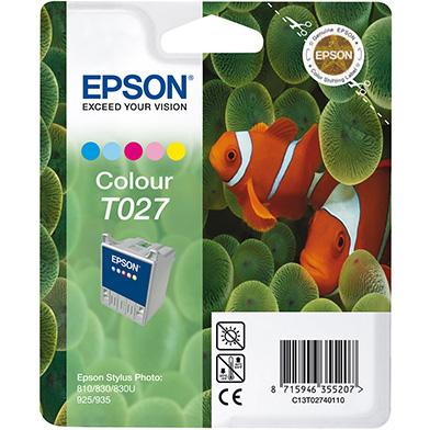Epson T027 5 Colour Ink Cartridge (46ml)