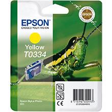 Epson Yellow T0334 Ink Cartridge (17ml)