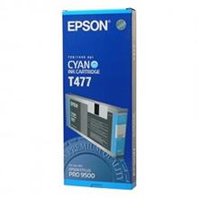 Epson Espon Cyan T477 Ink Cartridge (220ml)