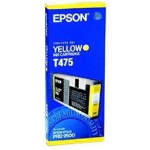 Epson Yellow T475 Ink Cartridge (220ml)