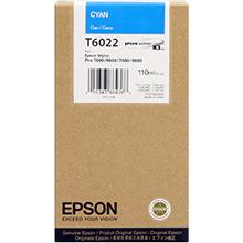 Epson Cyan T6022 Ink Cartridge (110ml)