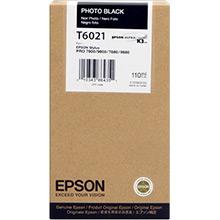 Epson Photo Black T6021 Ink Cartridge (110ml)