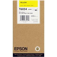 Epson Yellow T6034 Ink Cartridge (220ml)