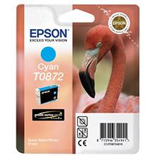 Epson Cyan T0872 Ink Cartridge (11ml)