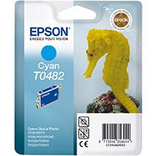 Epson Cyan T0482 Ink Cartridge (13ml)
