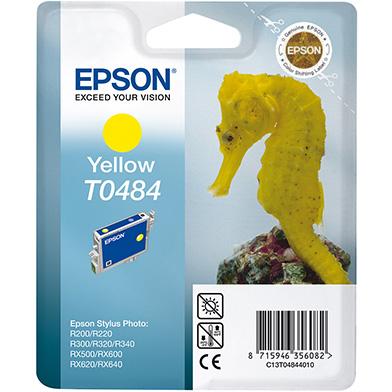 Epson Yellow T0484 Ink Cartridge (13ml)
