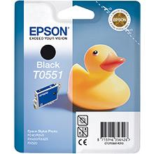 Epson Black T0551 Ink Cartridge (8ml)