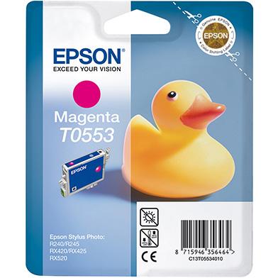 Epson Magenta T0553 Ink Cartridge (8ml)