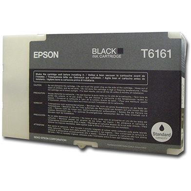 Epson C13T616100 Black T6161 Ink Cartridge (3,000 Pages)