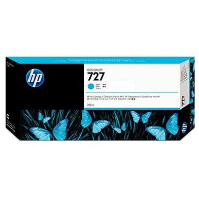 HP 727 Cyan DesignJet Ink Cartridge (300ml)