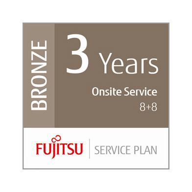 Fujitsu 3 Year Bronze On-Site Service Plan