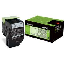 Lexmark 802K Black RP Toner Cartridge (1,000 pages)