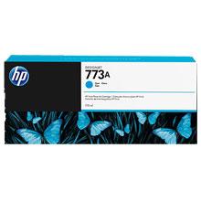 HP No. 773 Cyan Ink Cartridge (775ml) for DesignJet Printers