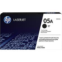 HP 05A Black Print Cartridge (2,300 pages)