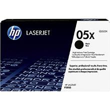 HP 05x Black Print Cartridge (6,500 pages)