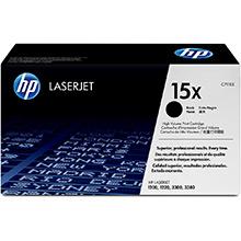 HP 15x High Capacity UltraPrecise Black Print Cartridge (3,500 pages)