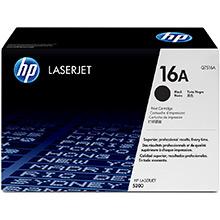 HP 16A Black Print Cartridge (12,000 pages)