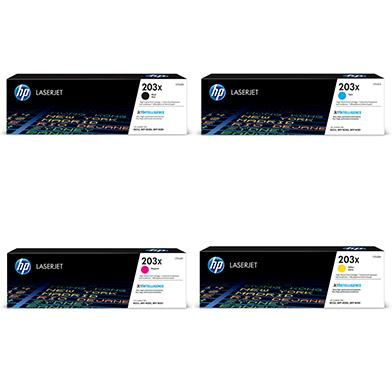 HP  203X High Capacity Toner Value Pack CMY (2.5K) K (3.2K)
