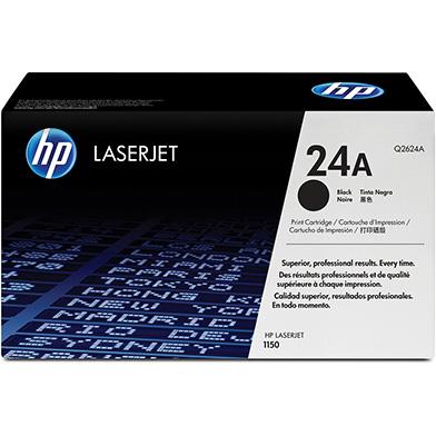 HP Q2624A 24A LaserJet Printer Cartridge (2,500 pages)