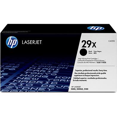 HP C4129X 29X Black Toner Cartridge (10,000 pages)