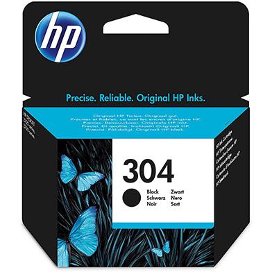 HP 304 Black Ink Cartridge (100 Pages)