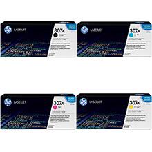 HP 307A Toner Rainbow Pack CMY(7.3k) K(7k)