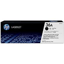 HP 36A LaserJet Smart Black Print Cartridge (2,000 pages)