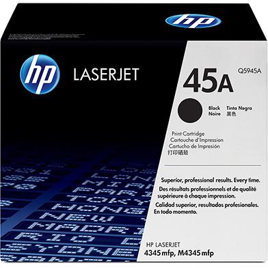 HP Q5945A 45A Black LaserJet Print Cartridge (18,000 pages)