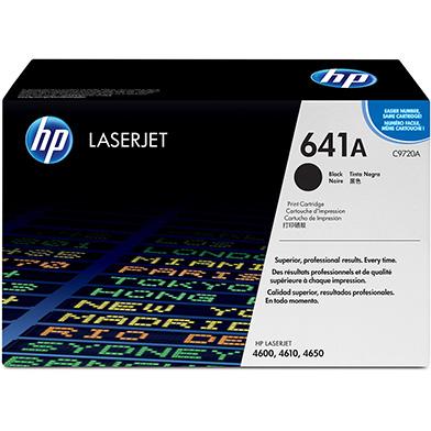HP C9720A 641A Black Print Cartridge (9,000 pages)