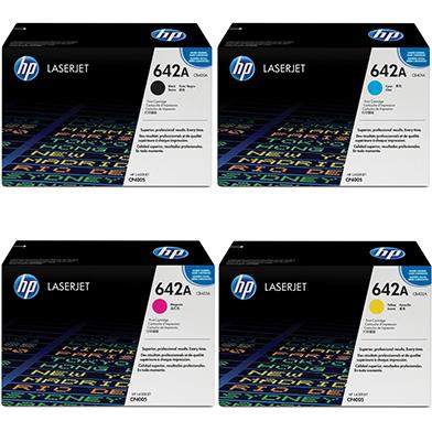 HP cp4005tonervalue 642A Toner Value Pack 7.5k (CMYK)