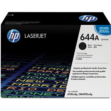 HP Q6460A 644A Black Print Cartridge (12,000 pages)