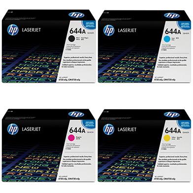 HP cm4730tonervalue 644A Toner Value Pack 12k (CMYK)