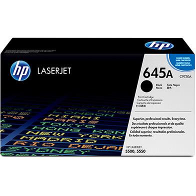 HP C9730A 645A Black LaserJet Smart Print Cartridge (13,000 pages)