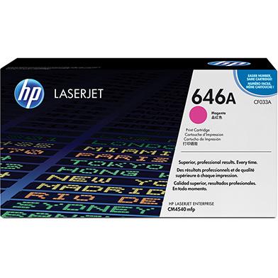 HP CF033A 646A Magenta Toner Cartridge (12,500 pages)