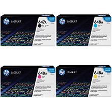 HP 647A/648A Toner Rainbow Pack CMY(11k) K(8.5k)