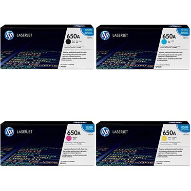 HP HP5525TONERVAL 650A Toner Rainbow Pack CMY(15k) K(13.5k)