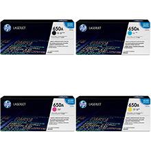 HP 650A Toner Rainbow Pack CMY(15k) K(13.5k)