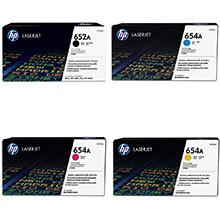 HP 652A/654A Toner Rainbow Pack CMY(15k) K(11.5k)