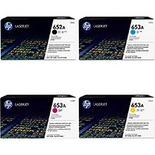 HP 652A/653A Toner Rainbow Pack CMY(16.5k) K(11.5k)
