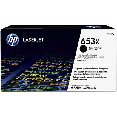 HP CF320X 653X Hi-Cap Black Toner Cartridge (21,000 pages)