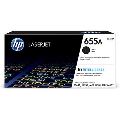 HP CF450A 655A Black Toner Cartridge (12,500 Pages)