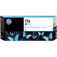 HP 728 Cyan Ink Cartridge (300ml)