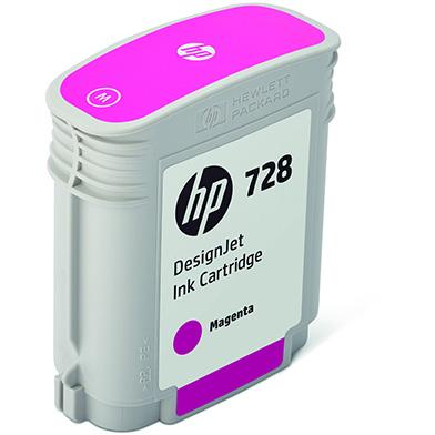HP F9J62A 728 Magenta Ink Cartridge (40ml)